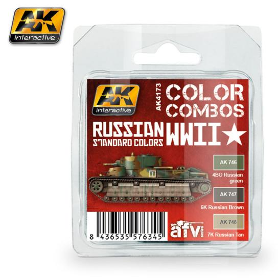 AK Interactive Russian Standard WWII Colour Set image