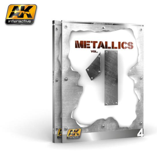 AK Interactive Books/DVDs AK Skills Book for Metallics Vol. 1 image