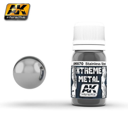 AK Interactive Xtreme Metal Stainless Steel image