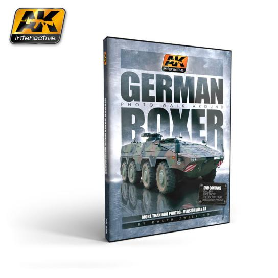 AK Interactive Books/DVDs GTR Boxer Photo DVD image