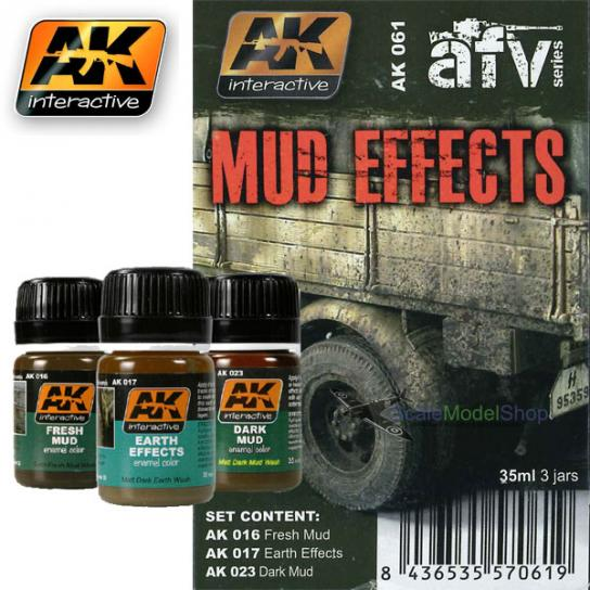AK Interactive Mud Effects Set image