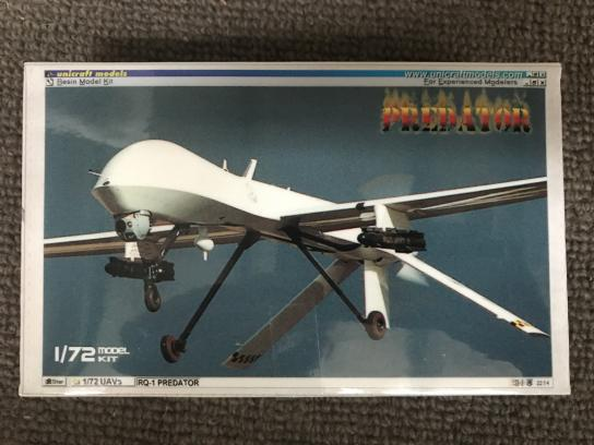 Unicraft Models 1/72 RQ-1 Predator UAV (Resin) image