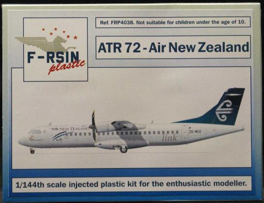 F-RSIN Models 1/144 French ATR 72 Air New Zealand  image