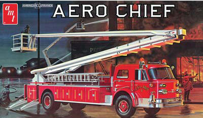 AMT 1/25 American LaFrance Fire Truck image