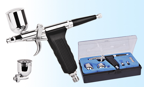 Fengda Pistol Grip Airbrush Set with Accessories image