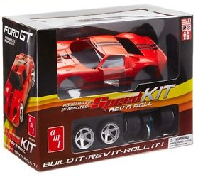 AMT 1/20 2010 Ford GT SpeedKIT Friction Model Toy image
